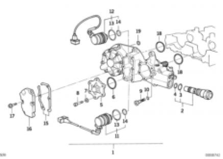 Cylinder Head Vanos