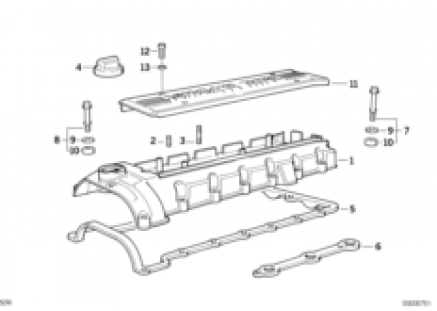 Cylinder head/cylinder head cover
