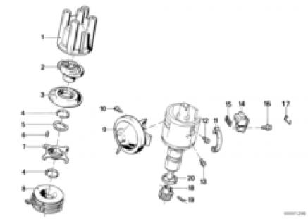 Distributor-single parts