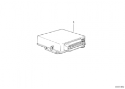 Uncoded DME control unit
