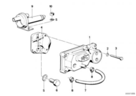 Addit.air slide valve/warm-up regulator
