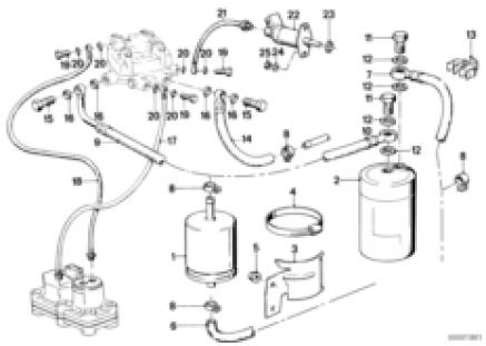 Fuel supply/filter