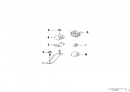 Fuel pipe bracket