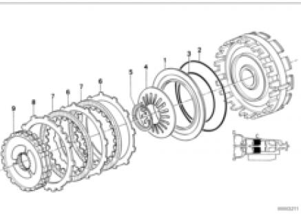 ZF 4hp22/24 brake clutch C