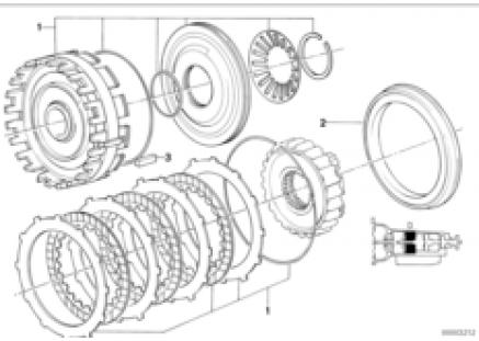 ZF 4hp22/24 brake clutch D
