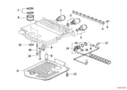 A5S560Z attach.parts/control valve assy