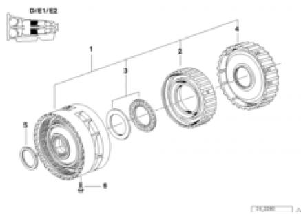 A5S560Z brake clutch D/e1/e2