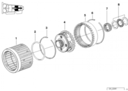 A5S560Z planet wheel set I