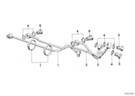 Hydro steering-pipe steering box