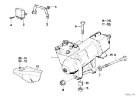 Hydro steering-servotronic