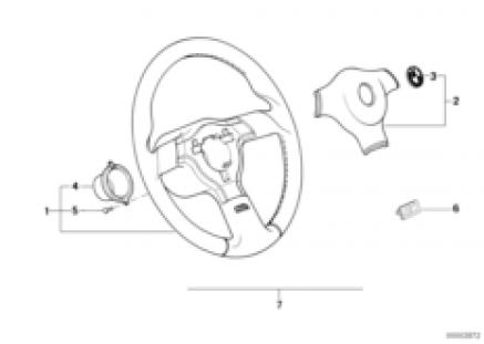 Sports steering wheel M-technik