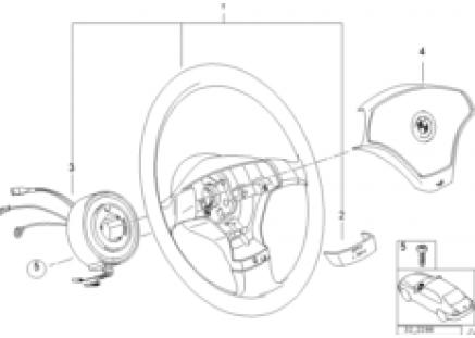 Airbag sports steering wheel 2
