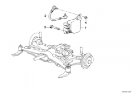 Rear axle carrier/switch for camber