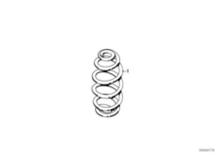Set coil springs