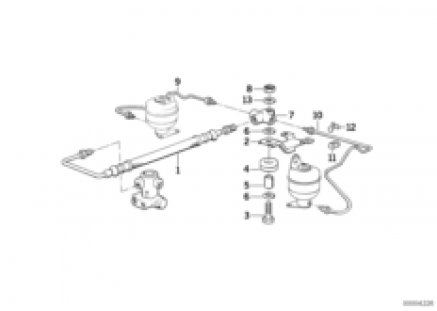 Levelling device/tubing rear
