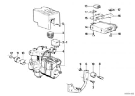 Anti block system-control unit