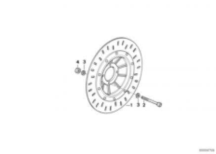 Brake rotor, front