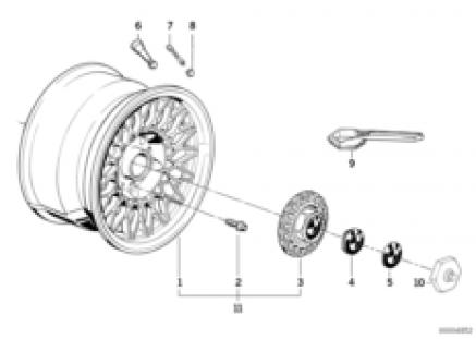 Cross-spoke styling (styl.5)
