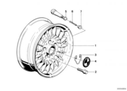 Forged alloy rim styl.trx-1