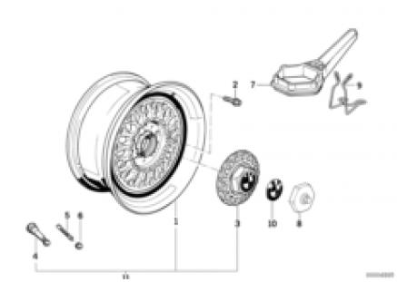 Cross-spoke stylins trx (styl.5)