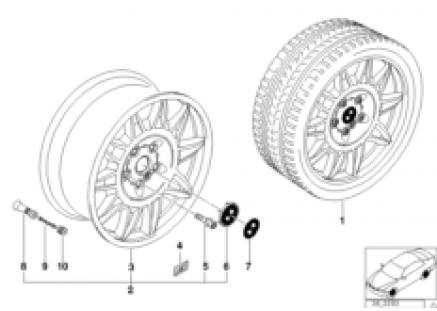 M double-spoke II (styl.39)