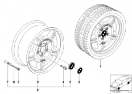 M double-spoke,forged