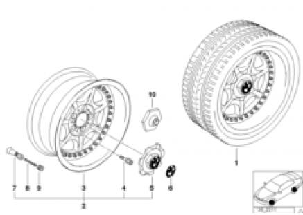 7-spoke composite wheel (styl.19)