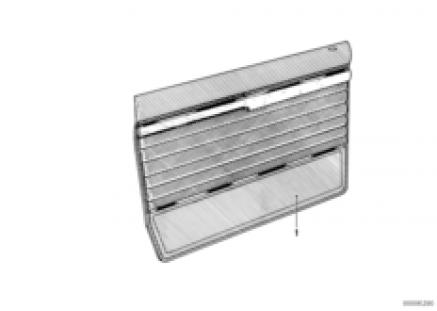 Door trim panel, front