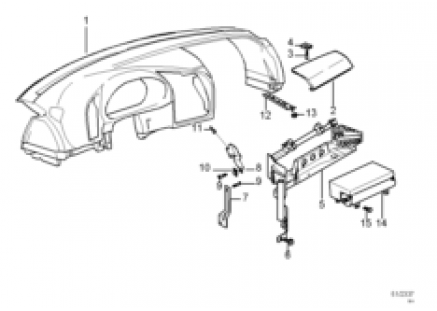 Dashboard covering/passenger's airbag