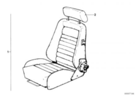 Recaro sports seat