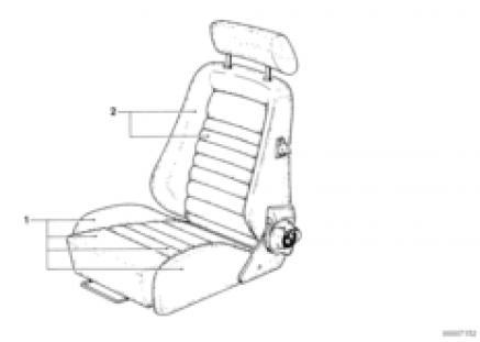 Recaro sp.S.-seat cover