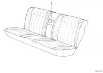Center armrest rear