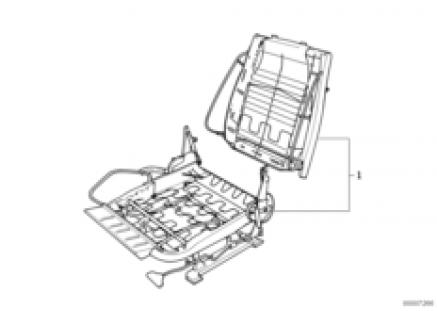 BMW repair sports seat