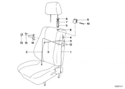 BMW sports seat unlocking