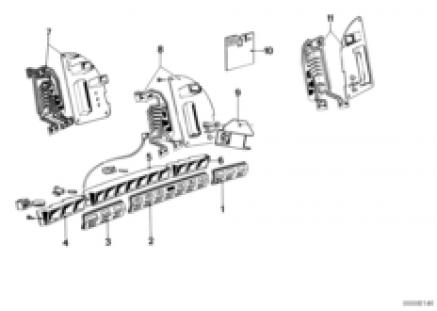indicator array/printed-circuit board