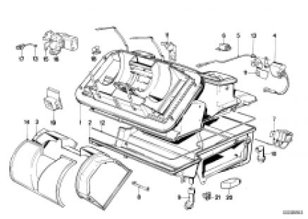 Air conditioning unit parts
