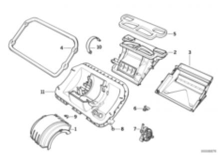Housing parts, heater Siemens