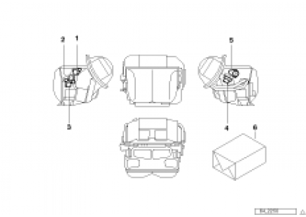 Actuator for automatic air condition