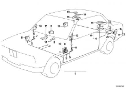Single components sound system
