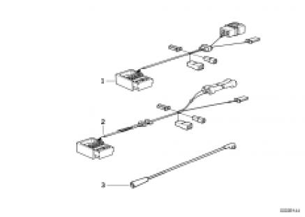 Radio adapter wiring