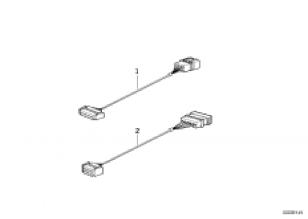 Adapter tube, loud speak. wiring harness