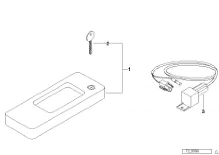 Gearshift-lever lock