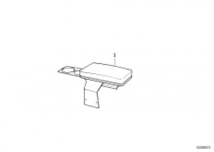 Armrest front