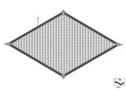 Boot/trunk floor net
