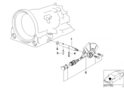 A4S 270R/310R selector rod/transm.switch
