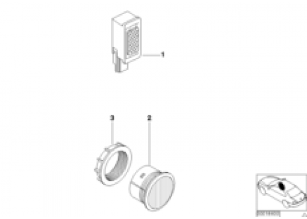 Single parts f hands-free facility