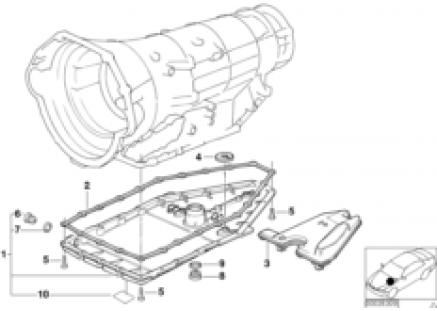 A5S560Z oil pan