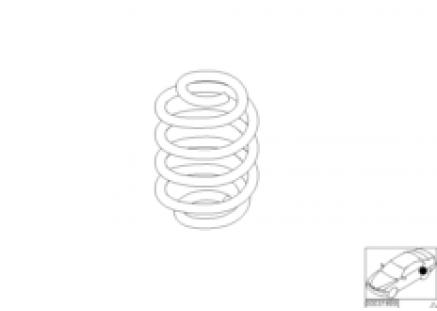 Barrel spring rear