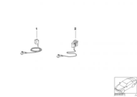 Repair cable, belt tensioner