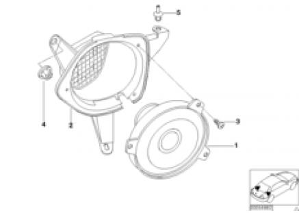 Hi-Fi System, rear
